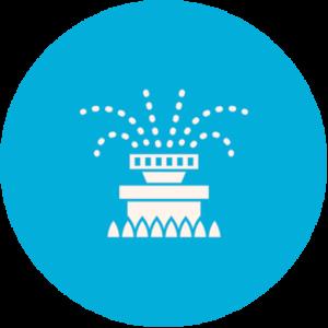 sprinklers service icon