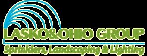 lasko & ohio group sprinklers, landscaping & lighting logo